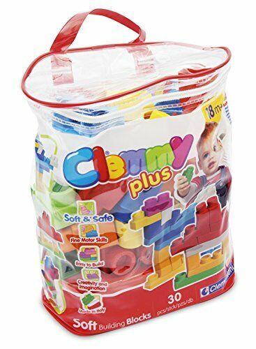 Clementoni 14879 Clemmy Plus Mattoncini Sacca 30 Pezzi v1v