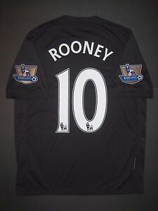 1aa2e269d Image is loading 2009-2010-Authentic-Nike-Manchester-United-Wayne-Rooney-