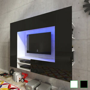 Mueble Para La Tv De Pared Con Luces Led De 169 2 Cm En Colores