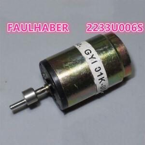 Details about FAULHABER 2233U006S High Speed Mini 22mm Big Coreless  Electric Motor DC 3V 6V 9V