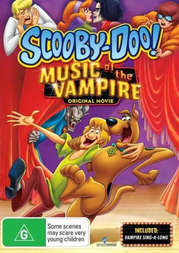 1 of 1 - Scooby Doo - Music Of The Vampire (DVD, 2013)
