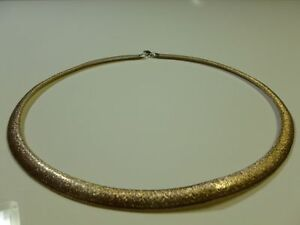 VINTAGE-STERLING-SILVER-MILOR-ITALY-925-WOMENS-NECKLACE-22-034-MUST-SEE