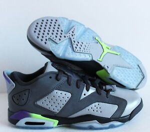 e01c5423142 NIKE AIR JORDAN 6 RETRO LOW GG DARK GREY SZ 4Y -WOMENS SZ 5.5 ...