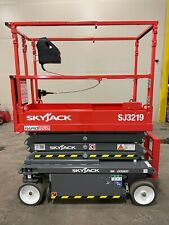 Brand New 2021 Skyjack Sj Iii 3219 19 Ft Electric Scissor Lift 5 Year Warranty