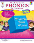 Month-By-Month Phonics for First Grade by Dorothy P Hall, Patricia M Cunningham (Paperback / softback, 2008)