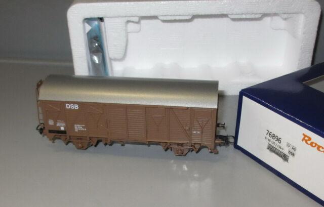 Roco H0 76896 DSB Gedeckter Güterwagen, Bauart Gs,  Epoche IV _ NEU