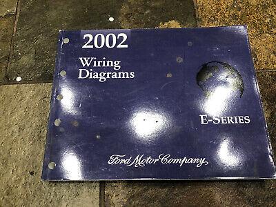 2002 Ford E-150 E-250 E-350 Van Wiring Diagrams Electrical ...