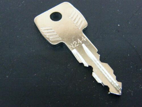 Thule clave n244 n 244 llave de repuesto para vigas popa portaequipajes de techo