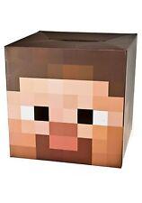 OFERTA Cabeza de Steve Minecraft disfraz máscara mascara