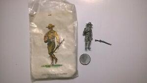 Soldatino in piombo da dipingere vintage soldato di cavalleria USA 1916 - h 7 cm