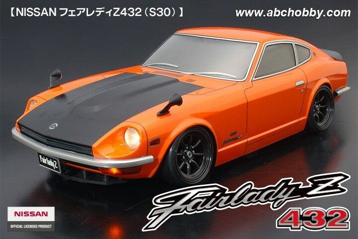 ABC-HOBBY NISSAN FAIRLADY z432  240z  carrozzeria-Set 1:10  66150