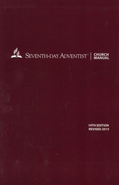 Seventh-day adventist church manual 18th edition | ebay.
