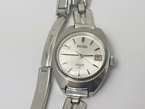 Vintage-Seiko-Special-2202-0010-23-Jewels-Ladies-Wrist-Watch-for-Repair