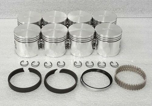 "Federal Mogul Ford Mercury 312 Y-Block Pistons+Rings .040/"" Thunderbird"