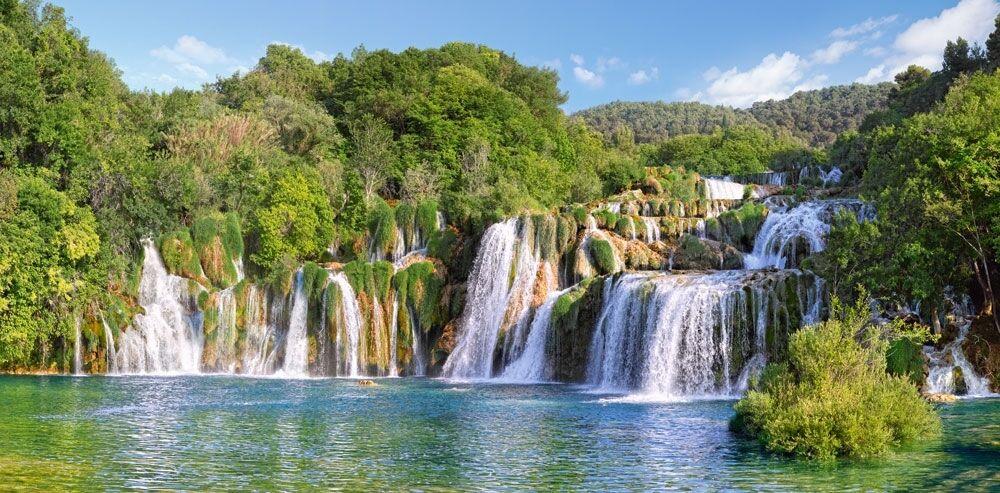 vendita di fama mondiale online 4000 pcs Puzzle Krka Waterftuttis, Waterftuttis, Waterftuttis, Croatia (Art) Castorle C-400133  incentivi promozionali