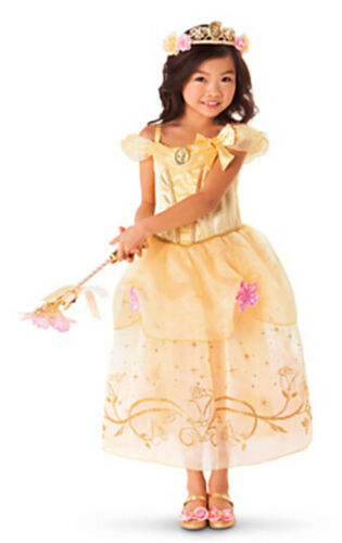Kids Girls Princess Costume Fairytale Dress Up Girls Fancy Dress Princess Dress
