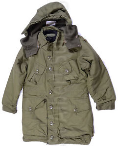 CANADIAN ARMY WINTER PARKA COAT - size 7340 - EXTREME COLD WEATHER ...