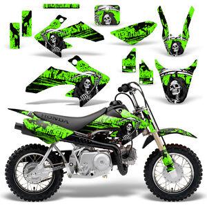 Honda CRF Graphic Kit MX Dirt Bike Decals Graphics Wrap CRF - Decal graphics for dirt bikes
