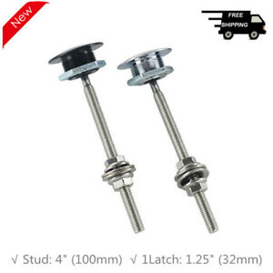 """1.25"""" Universal Car Hood Pins Lock JDM Style Push Button Clip Quick Pins for BMW"""