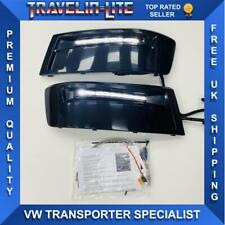 VW T5 Transporter DRL Kit 2010-15 Facelift Best Quality ABS Covers (Unpainted)