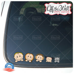Peek-A-Boo-Stick-Figure-Family-13-Characters-FULL-COLOR-Vehicle-Car-Truck