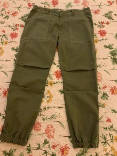 Nili Lotan Women Cropped French Military Pants Siz
