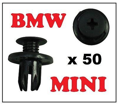 10 x BMW Mini Interno Passaruota Fodera Splashguard fodera Trim Clip
