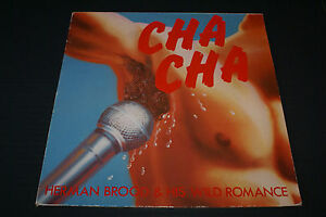 Herman-Brood-amp-His-Wild-Romance-Cha-Cha-vinyl-Import-LP-1978-Aves-Blues-Rock-OOP