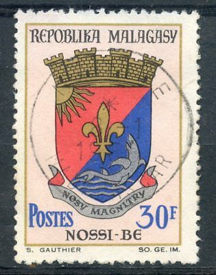 Architecture Stamps Timbre De Madagascar N°439 Oblitere Blason De Nossi Be As Effectively As A Fairy Does