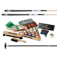 Harley Davidson® Billiards Starter Kit Pool Table Accessory Kit W/ Free Shipping