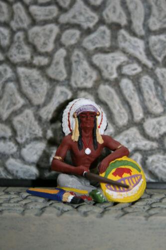 Indianer 54622 NEU /& OVP Elastolin Preiser 7cm bemalt