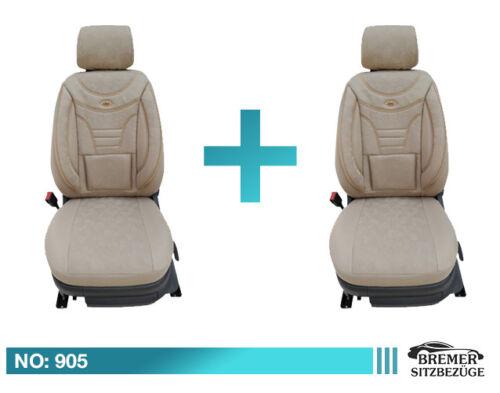 Skoda Superb Schonbezüge Sitzbezug Sitzbezüge  Fahrer /& Beifahrer  905
