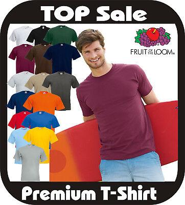 10x (3,99€/stück) Fruit Of The Loom Super Premium T-shirt 18 Farben Nach Wunsch