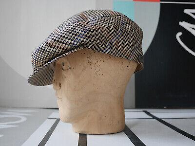 Borsalino Berretto Saracinesca 58 M 80er Made In Italy True Vintage 80s Flat Cap Cappello-mostra Il Titolo Originale