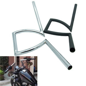 Motorcycle-7-8-034-amp-1-034-Z-Handlebars-Drag-Bar-For-Honda-Yamaha-Suzuki-Chopper-Bobber