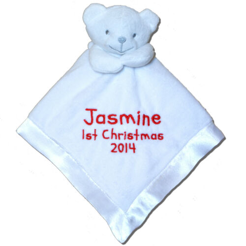 First Christmas 2019 Personalised Comforter Blanket Gift Stocking Filler
