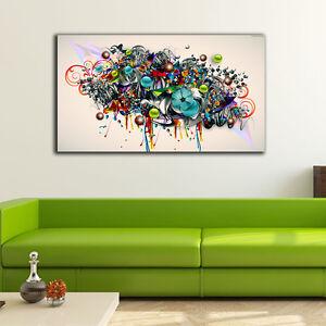 60-100-3cm-Graffiti-Art-Canvas-Prints-Framed-Wall-Art-Home-Decor-Gift-Painting