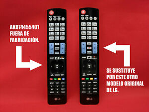 42bce875e2842 Image is loading Remote-control-to-Distanca-Original-TV-LG-Substitute-