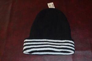 a047fac81e6 NWT Aeropostale Beanie Hat Cap Toboggan Adult Black White One Size ...