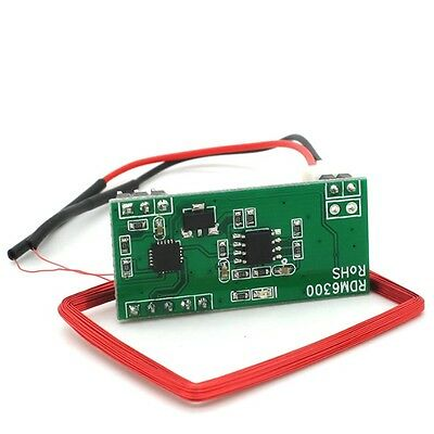 1pcs 125K EM4100 RFID Card Reader Module RDM6300 ID RF UART Output For Arduino