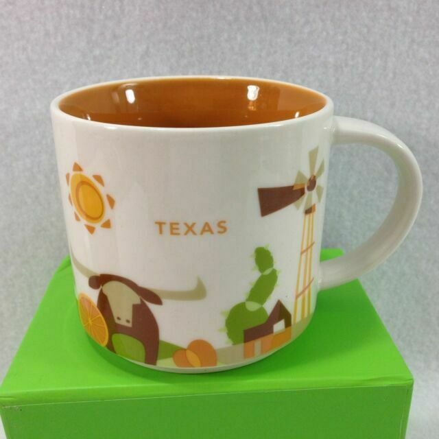 Starbucks 2017 TEXAS Local Holiday Christmas To Go Cup Mug Tumbler ORNAMENT