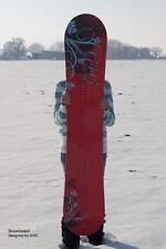 G4G Custom 146 cm Floral Snowboard