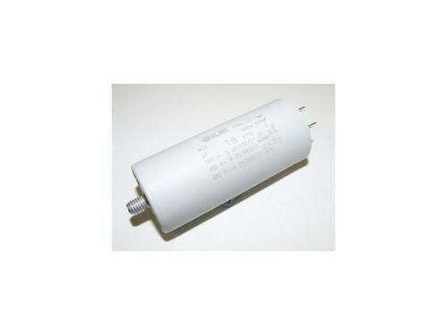 OUTDOOR UNIT FAN PLASTIC ROUND RUN CAPACITOR 18µF 18UF 400-500V 4 TERMINALS