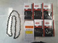 6 91vxl056g Oregon 16 Chainsaw Chains 3/8 Lp .050 Gauge 56 Dl Pro S56