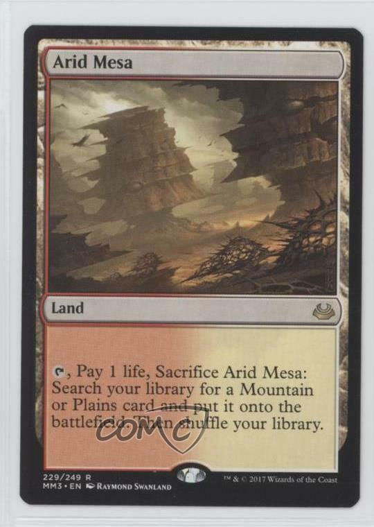 2017 Magic  The Gathering - Modern Masters 3 Compilation Set Arid Mesa n0n