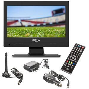 Camping-Fernseher-LCD-TV-mobil-Betrieb-Xoro-PTL-1250-DVB-T2-USB-12-V-230-Volt