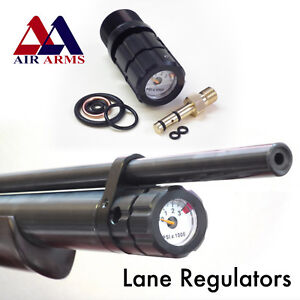 Details about Air Arms Compatable Quickfill & Pressure Gauge, by Lane  Regulators, Made In UK