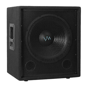 vm audio 12 inch 1000 watt passive sub dj speaker pro. Black Bedroom Furniture Sets. Home Design Ideas