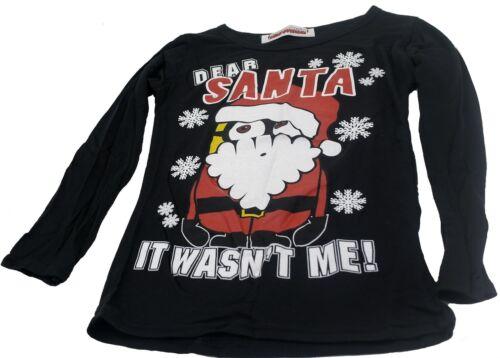 Childrens Dear Santa Long Sleeved T-Shirt
