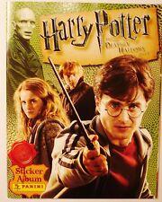 Harry Potter Deathly Hallows Part 1 Panini Sticker Album UK UNUSED Poster Inside